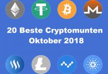 De 20 beste cryptomunten van 2018 in Oktober