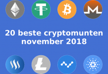 20 beste cryptomunten van 2018 in november